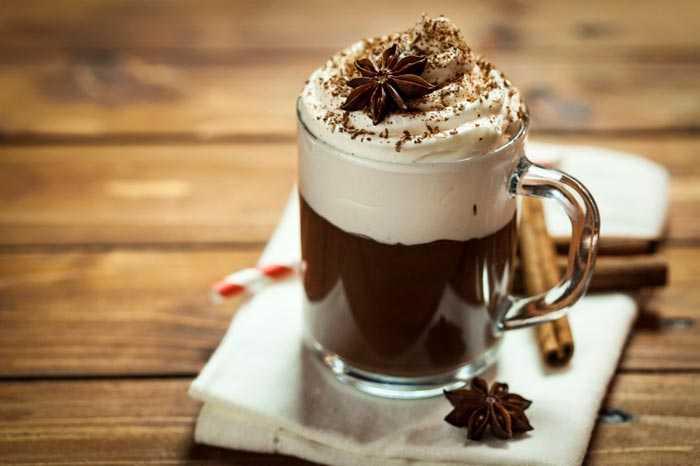 ирландский кофе с корицей