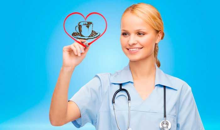 врач и кофе