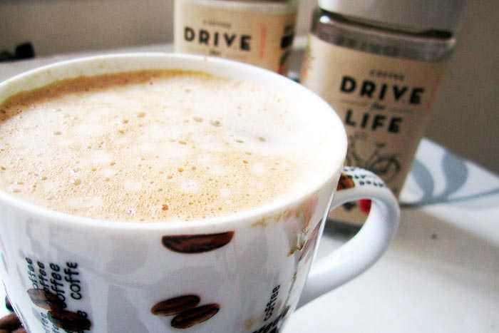 растворимый кофе с пенкой