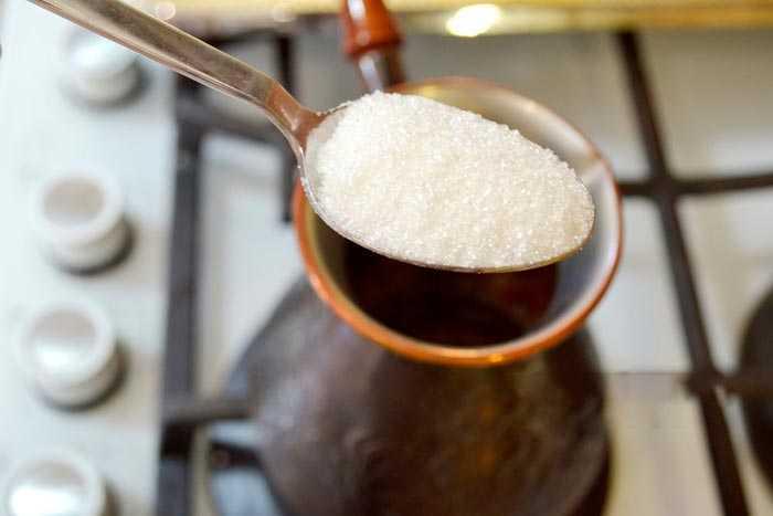 сахар в турке