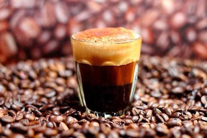 кофе лонг блэк