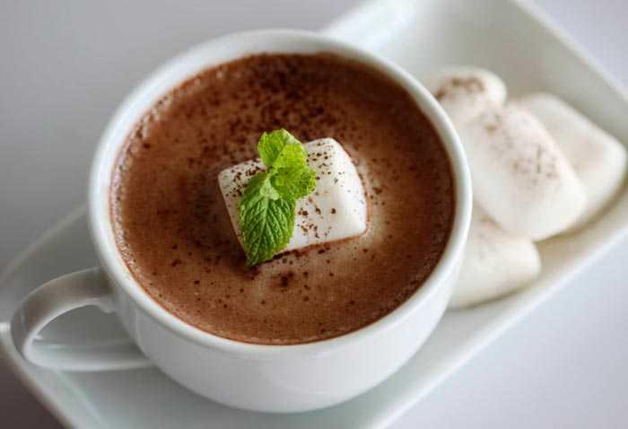 мятный кофе
