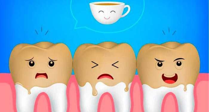 кофе и зубы