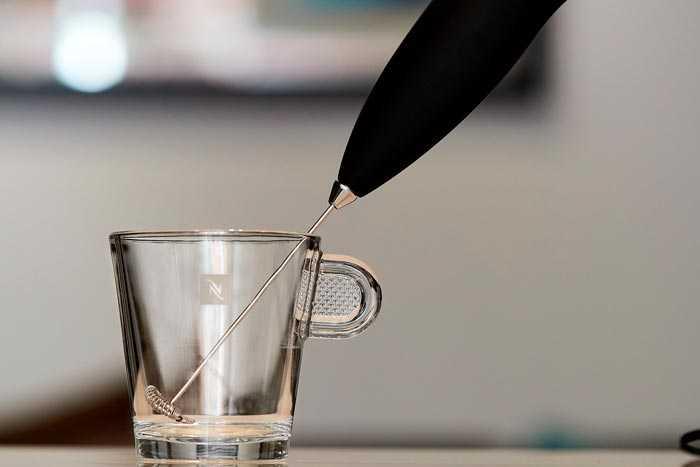 капучинатор в стакане