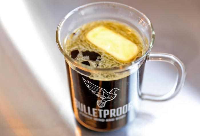 масло в кофе