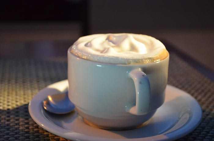 сырный кофе