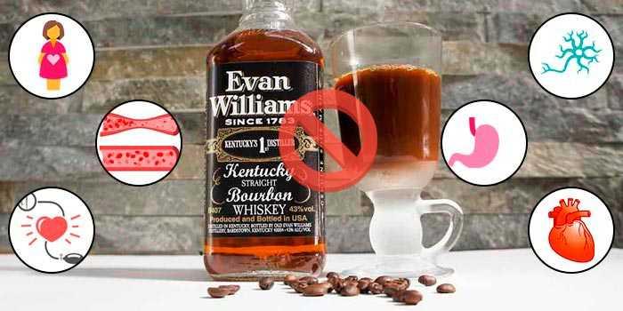 противопоказания к алкогольному кофе