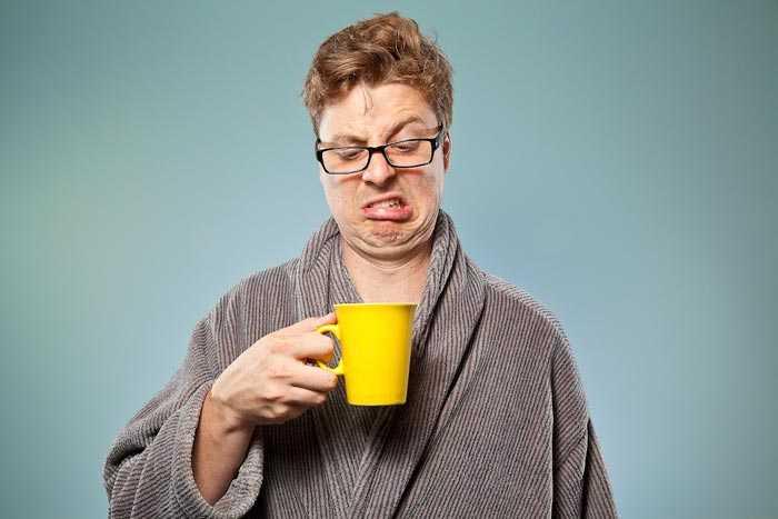 плохой кофе