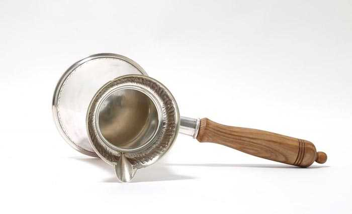 серебряная джезва