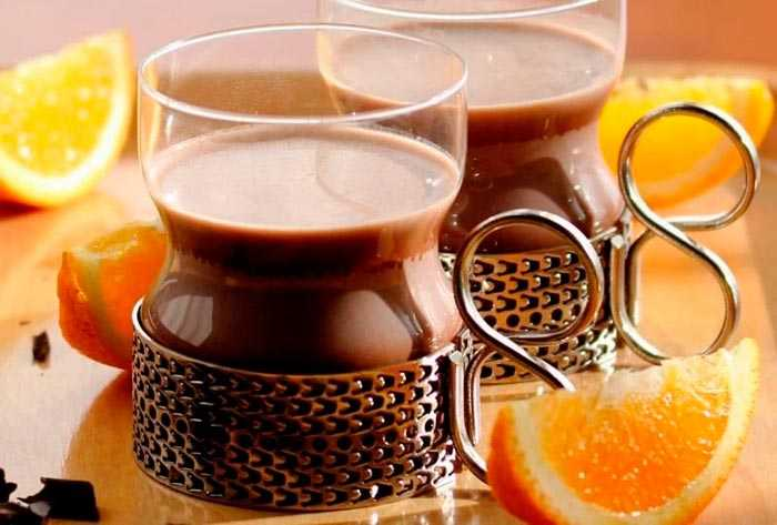апельсиновое какао