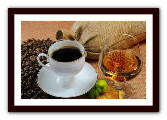 Как готовить кофе с коньяком